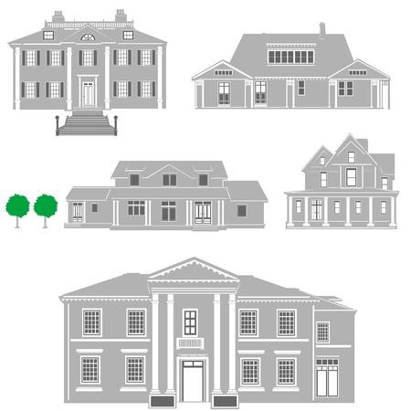 residences Stock Vector - 9315899