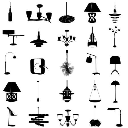 ceiling design: vector de iluminaci�n moderna Vectores