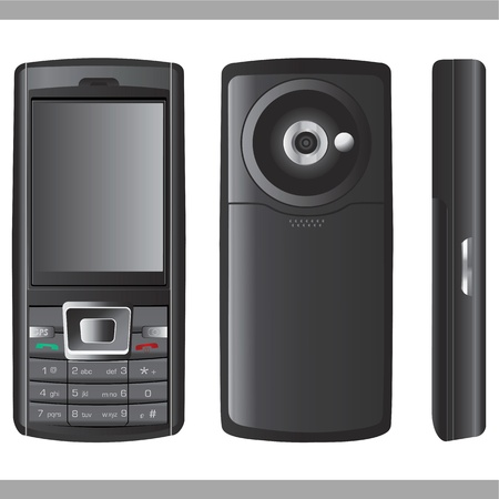 phone vector Stock Vector - 9315693