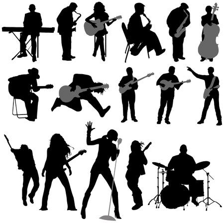 musician vector Vector