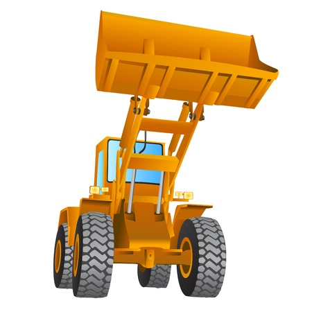 construction machine vector Vector