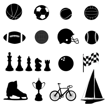 football helmet: sport icons vector  Illustration