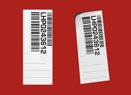 barcode label vector  Stock Vector - 9315675