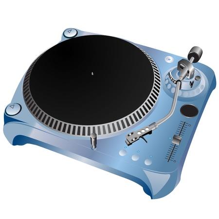 turntable  vector  Stock Vector - 9345606