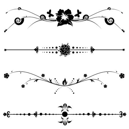 rococo: vintage design vector