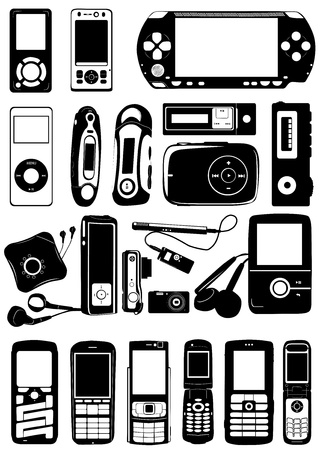 electronic vector Stock Vector - 9402027