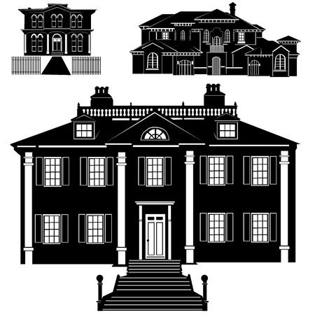 residences vector Stock Vector - 9402029