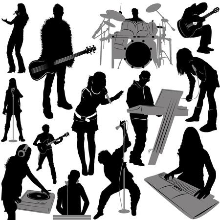musician vector 2 (instrument detail)  Vector