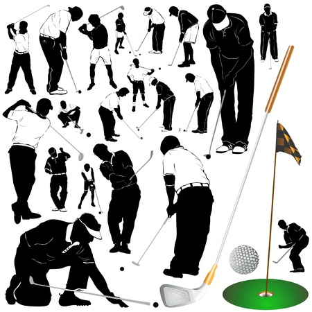 tees: golf vector 2 (clothes detail)