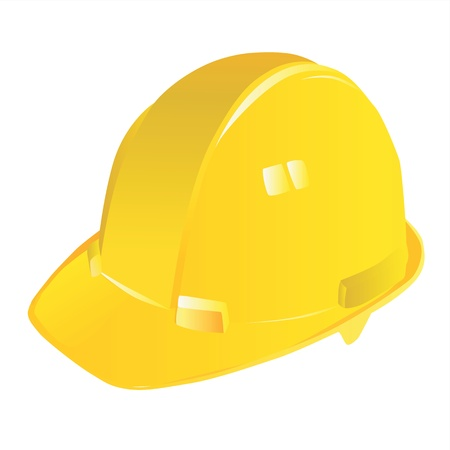 woman hard working: construction workers hard hat vector