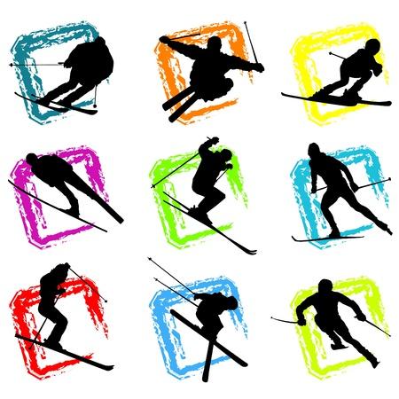 ski Stock Vector - 9401468