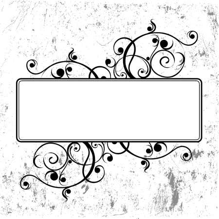 floral frame Stock Vector - 9401121