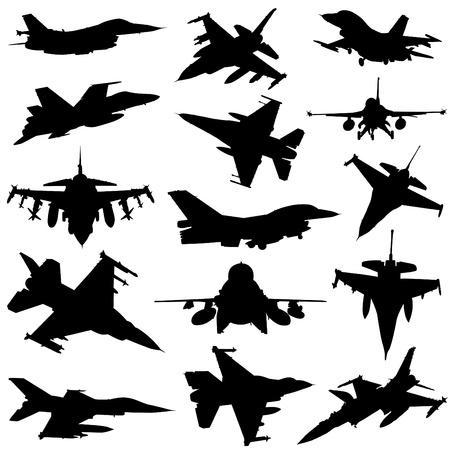 military plane vector  Vector