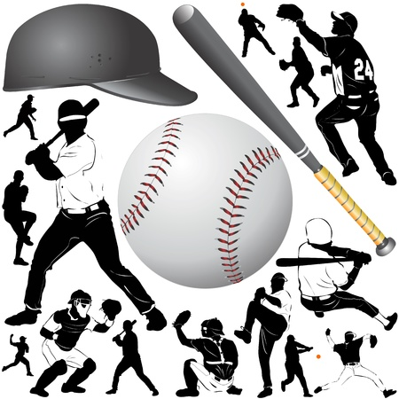 baseball caps: baseball  Illustration
