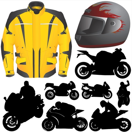 race motorcycle Stock Vector - 9447506