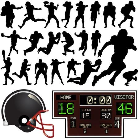 american football helmet collection: american football