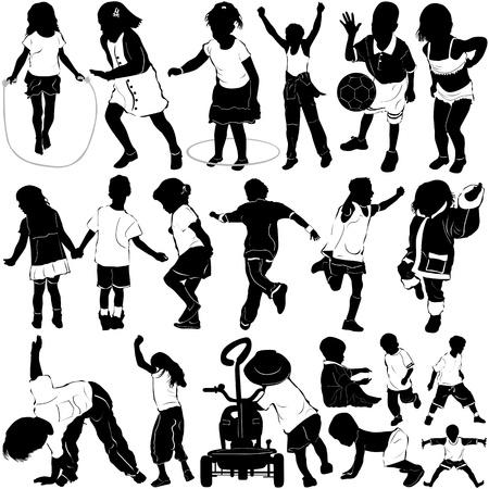 kids (clothes detail)  Vector