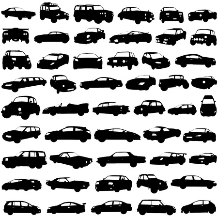 set of cars  Stock Vector - 9447456
