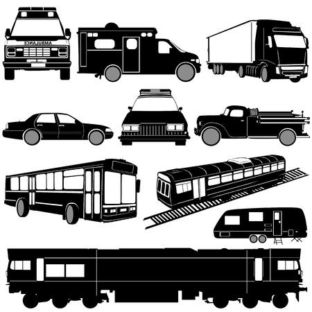 ambulance: transportation Illustration