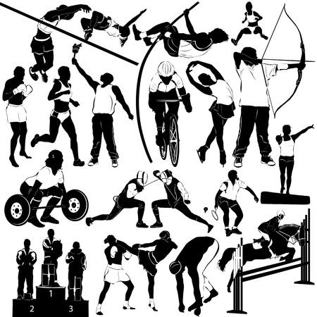 sport people Stock Vector - 9447555
