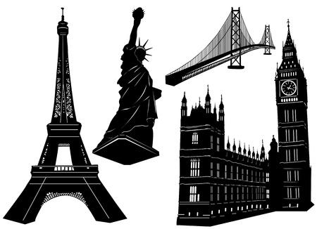 london tower bridge: urban architecture building vector
