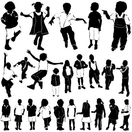 kids vector (clothes detail)  Vector
