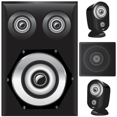 speaker details vector Stock Vector - 9505755