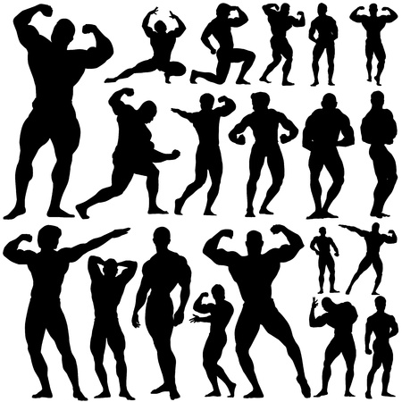 gym, fitness vector  Vector