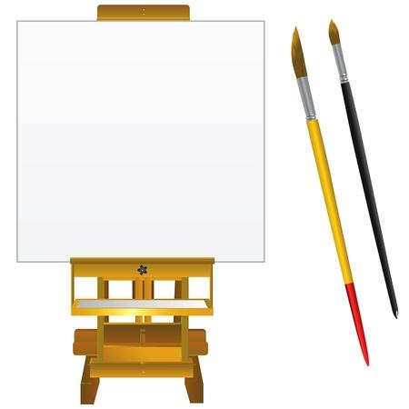 board room: vector de Junta y pinceles de arte del lienzo