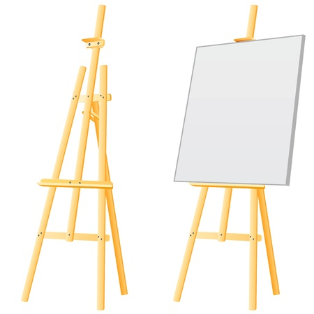 easel board  Stock Vector - 9505649