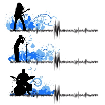musical group  Stock Vector - 9592768