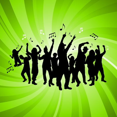party people  Stock Vector - 9592759