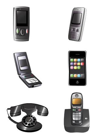 telefon: wektor telefon
