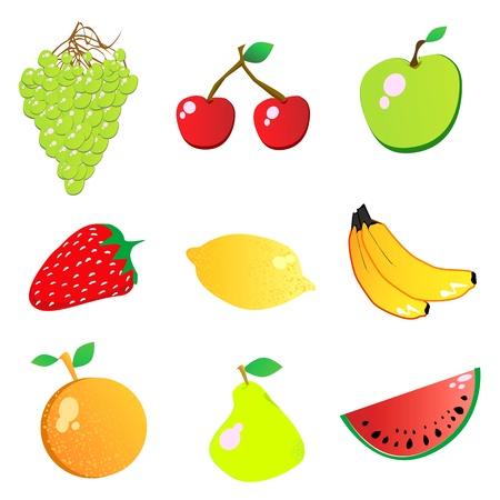 fruit vector  Stock Vector - 9592799