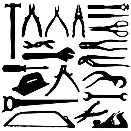 tools set - vector  Stock Vector - 9592789