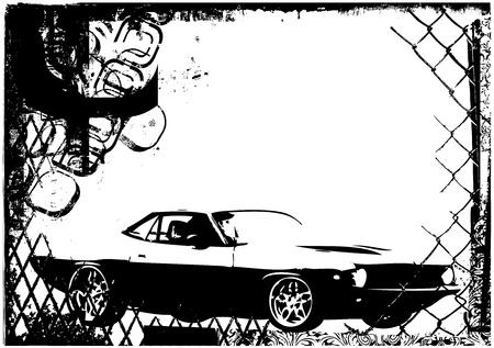 exotic car: sport car vector
