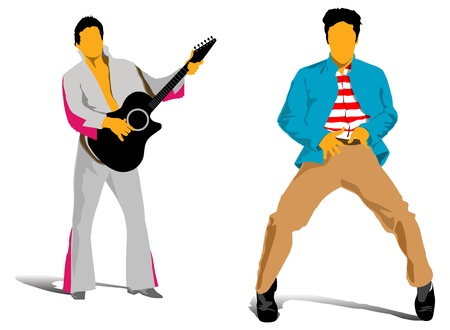 music man vector