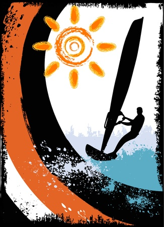 surfing Stock Vector - 9658310