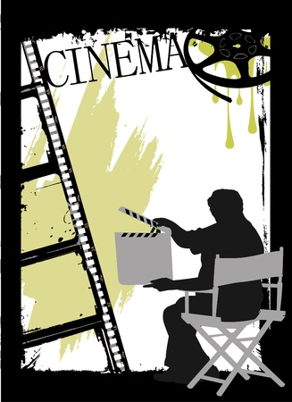 cinema design Stock Vector - 9658262