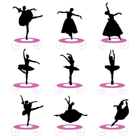 ballet set Stock Vector - 9658236
