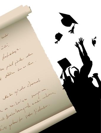degrees: graduation