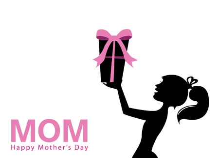 mothers day background: festa della mamma