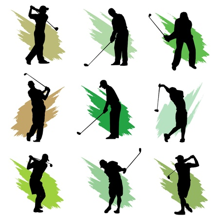 tees: golf Illustration
