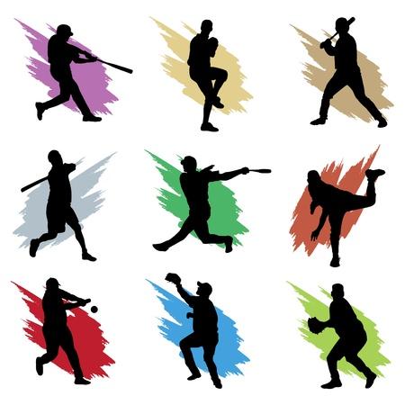 catcher: baseball  Illustration