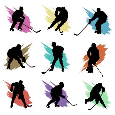 ice hockey Stock Vector - 9717438
