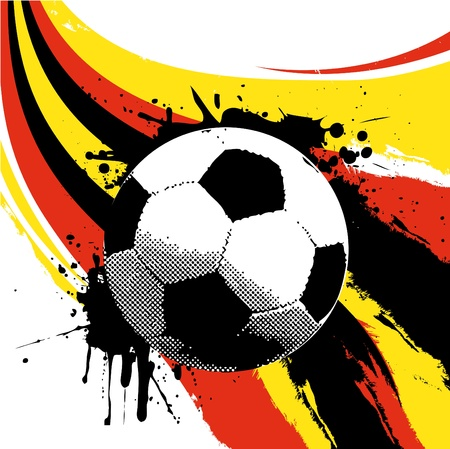 soccer ball  Stock Vector - 9717468