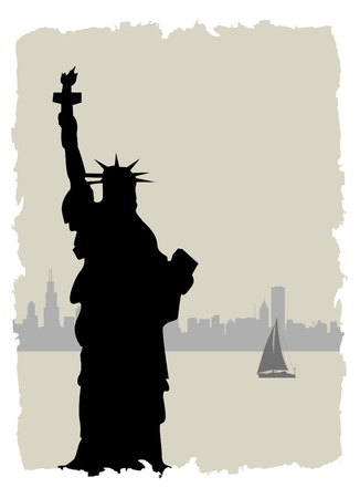 history month: statue of liberty