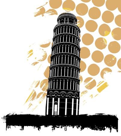 built tower: Torre de Pisa