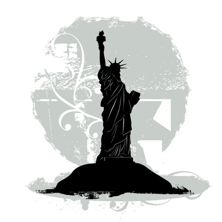 famous place: statue of liberty