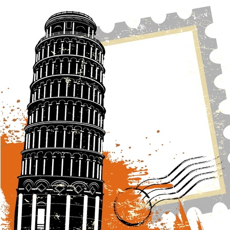 famous place: pisa tower